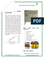 SME APFC Panel Catalogue