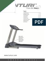 Manual Tunturi T 40