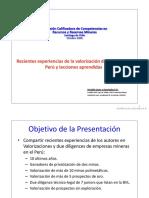 Valorizacion de Minas en El Peru