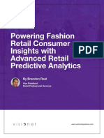 Powering Fashion Retail Consumer Insights with Advanced Retail Predictive Analytics