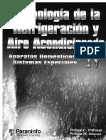 Whitman W - Tecnologia de La Refrigeracion Y Aire Acondicionado - Aparatos Domesticos IV