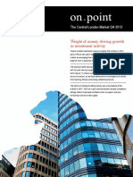 Central London Report Q4 2013