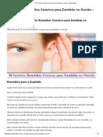 27 Incriveis Remédios Caseiros Para Zumbido No Ouvido - Beleza Blog
