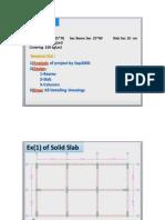 Analysis of Flat Slab