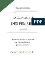 LA CONQUETE DES FEMMES  Maurice Magre