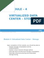CIS Module 4 VDC Storage