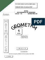 Módulo Geometría 1° III B