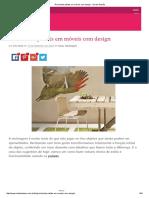 Reciclando Pallets Em Móveis Com Design - Vila Do Artesão