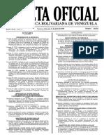 Gaceta 40.943 (Tasas).pdf
