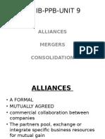 JAIIB -- A 9 Alliances, Mergers PPB