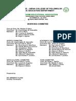 2015 Ndea Committee