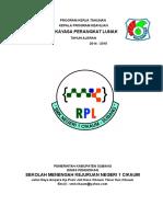 238448297 Program Kerja Kaprog Keahlian RPL SMKN 1 CIKAUM