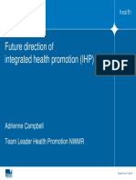 Adrienne Campbell - Future Direction of Integrated Health Promotion IHP - PDF
