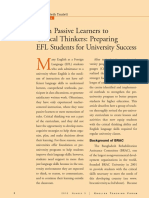 Passive Learners-Critical Thinkers - Preparing EFL Students for University.pdf