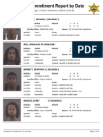 Peoria County Jail Booking Sheet for July 18, 2016