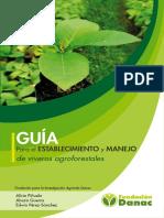 GUÍA Para El Establecimieento y Manejo de Viveros Agroforestales Danac