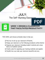 july wk 1 pdf--design a classroom that facilitates productivity