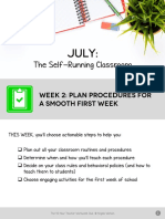 july wk 2 pdf-plan procedures for a smooth first week