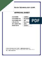 Liteon Pa-1121-04cp Laptop Ac Adapter Power Supply