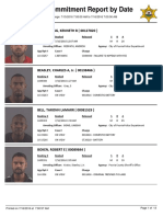 Peoria County Jail Booking Sheet for July 16, 2016