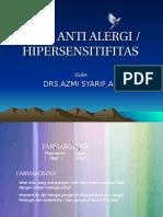 Farmakologi Obat Obat Anti Alergi - 2012