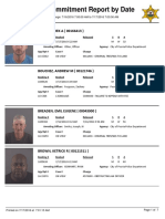 Peoria County Jail Booking Sheet for July 17, 2016