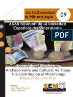 Archaeometry and Cultural Heritage the C