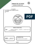 Derecho Operacional FUERZAS ARMADAS Y GRUPOS O COLECTIVOS EN SITUACIÓN ESPECIAL