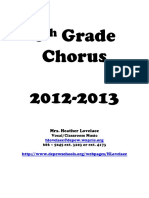 6thChorus Grading Policy and Classroom Procedures20122013