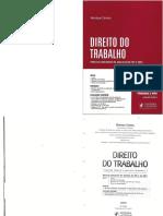 Direito Do Trabalho - Analista Do TRT e Do MPU - Henrique Correia- 2015