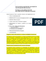 Modelo Programa Preventivo Promocional