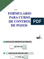 230498913 Formulario Matematica Para Control de Pozos