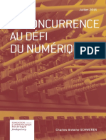 Charles-Antoine Schwerer - La concurrence au défi du numérique