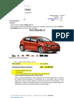 Proforma Polo Fab 2016-Transportes Keito Eirl- Willy Perez Calla