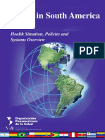 2012 Health in South America