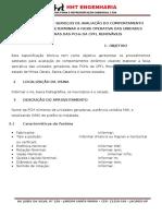 Especificação Técnica para Ensaios de  Faixa Operativa