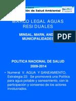 Marco Legal Aguas Residuales El Salvador