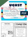 August 2016 Catholic Kids Bulletin