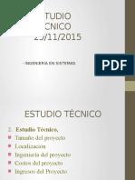 3- ESTUDIO TECNICO