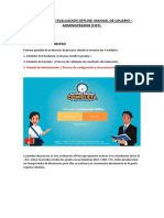 Manual Usuario Administrador - Aplicativo de Evaluación Offline