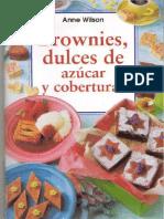 Brownies, Dulces de Azucar y Coberturas