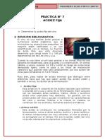 p7, Acidez Fija