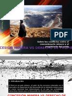 Concesion Minera vs Derecho de Propiedad