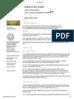Emmanuel Saez - Reading List.pdf