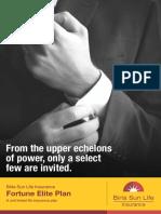 BSLI Fortune Elite Plan Brochuer