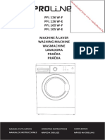Proline Washing Machine Manual
