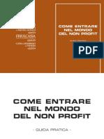 Agenzia Entrate - Come Entrare Nel Mondo Del Non Profit Guida Pratica