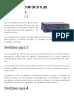 Switches Capa 2, Capa 3 y Capa 4 Conoce Sus Diferencias