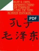 El Pensamiento Chino Desde Confucio Hasta Mao Tse Tung