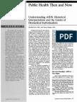 Understanding AIDS Historical Interptretation